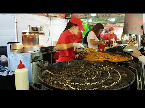 Street food Summer  Victroria Night Market Australia