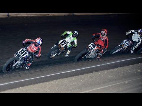 2014 Calistoga Half-Mile - Heat Races - AMA Pro Flat Track