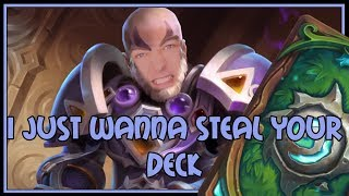 I just wanna steal your deck | Quest priest | The Witchwood | Hearthstone