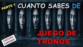 CUANTO SABES DE JUEGO DE TRONOS PARTE 1 (TEST)