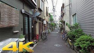 Walking around a small alley in Nezu, Tokyo - Long Take【東京・根津】 4K