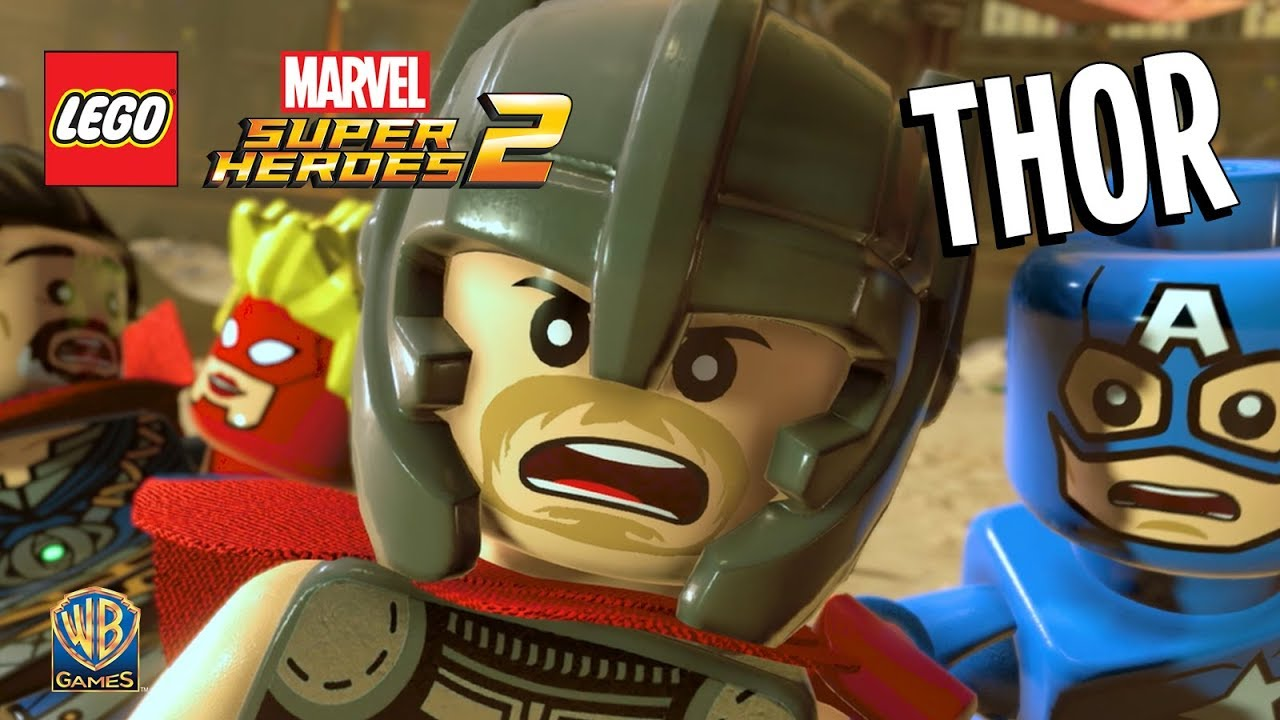 Preferência LEGO Marvel Super Heroes 2 – THOR (Trailer Dublado) - YouTube GB37
