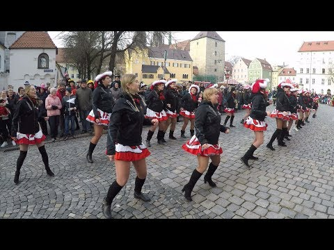 Карнавальное шествие в Регенсбург Германия/Faschingszug Regensburg 2020