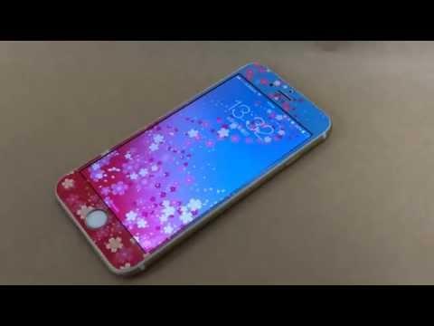 壁紙とつながるiPhoneスキンシールとsimejiキーボードで一体化!