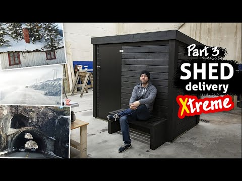 DIY Shed Delivery – I Drove 800km, And it Was Extreme (and Beautiful)!