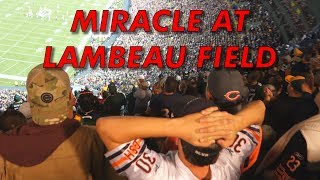 MIRACLE AT LAMBEAU FIELD! [Packers vs Bears 2018]