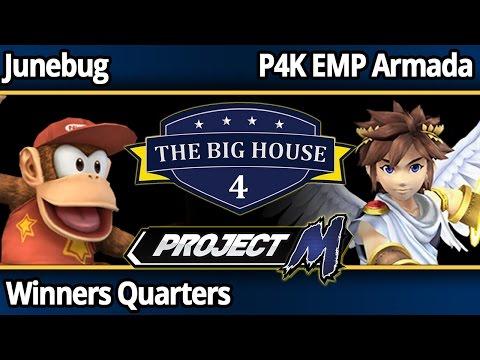 TBH4 PM - Junebug (Diddy) vs P4K EMP Armada (Pit) - Winners Quarters