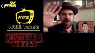 The Awesome TV Show Ep 6 | Exclusive Interview with David Harbour | Stranger Things