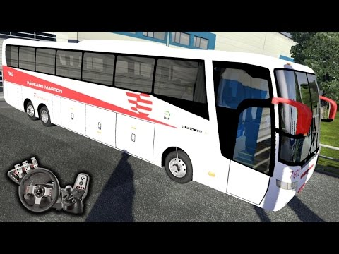 Euro Truck Simulator 2 - Pássaro Marron - Elegance 360 - Na moral - Com Logitech G27