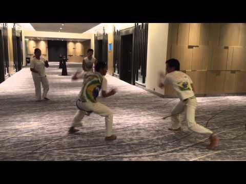 Capoeira Indonesia Jakarta show by VIVA BRAZIL Pullman hotel