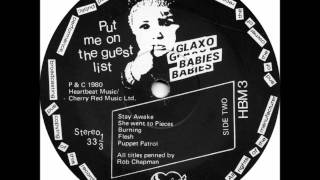 Glaxo Babies - Police State [Put me on the guest list, 1980]