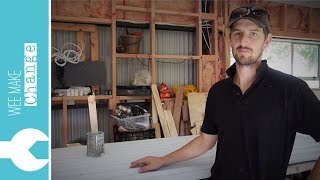 How to Prep and Paint Used Corrugated Iron 'Tiny House Project'