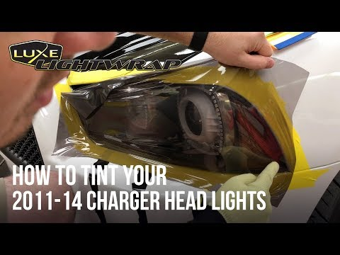 How To Tint Your 2011-14 Charger Head Lights