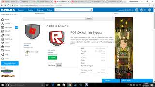 Bypassing into the official roblox admin group [EPIC HOW TO]