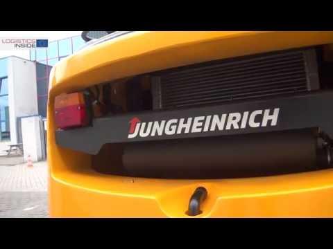 Test Jungheinrich TFG 425 LPG