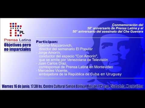 Gente en Obra - Juan C. Díaz (Prensa Latina) Audio completo 14/06/2017