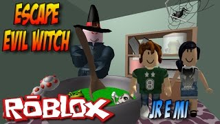 Roblox - Casa da Bruxa Malvada !! Escape the Evil Witch
