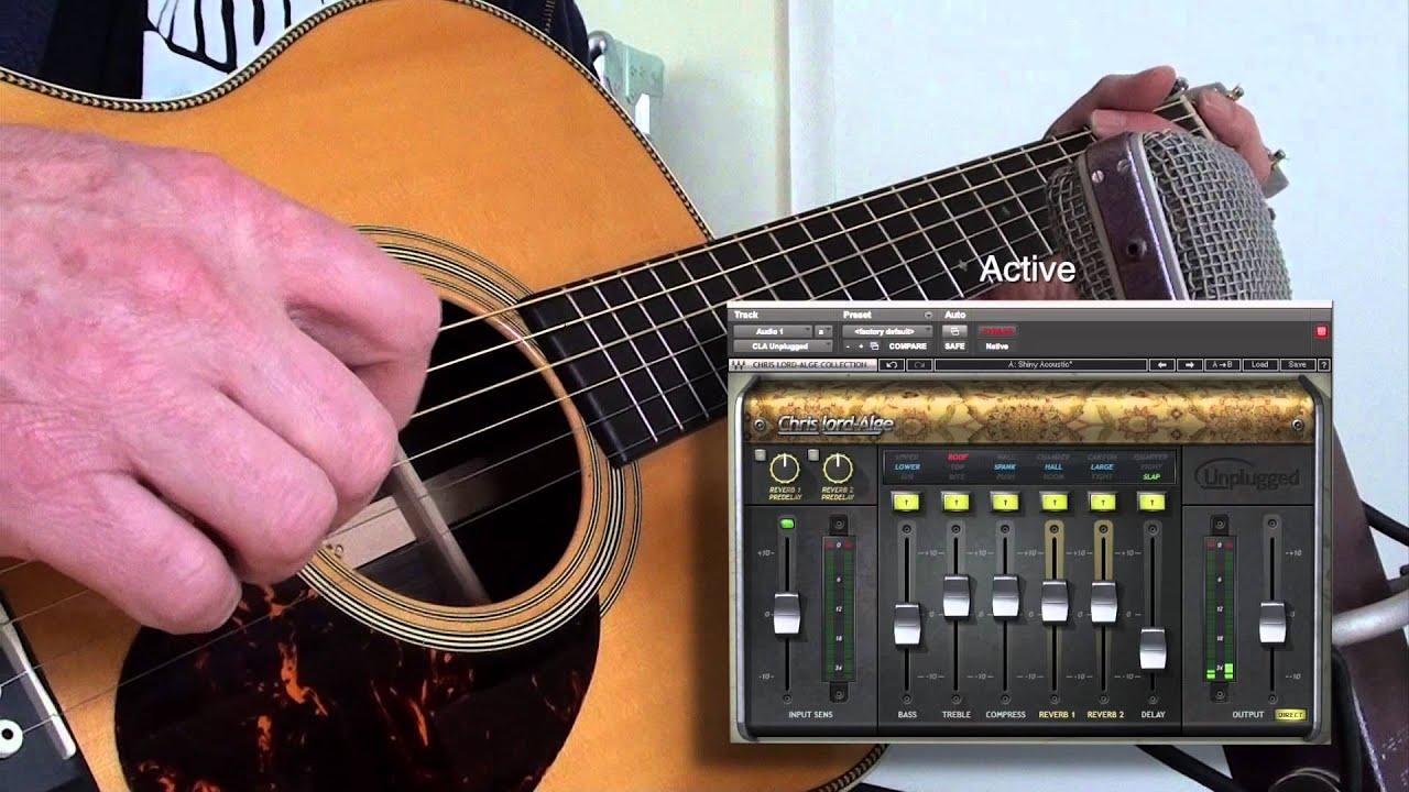 Waves Cla Unplugged Martin Om28e Youtube