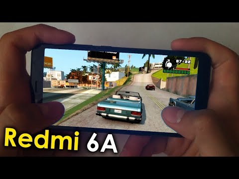 Xiaomi Redmi 6A - Игровой тест (2019) MediaTek Helio A22