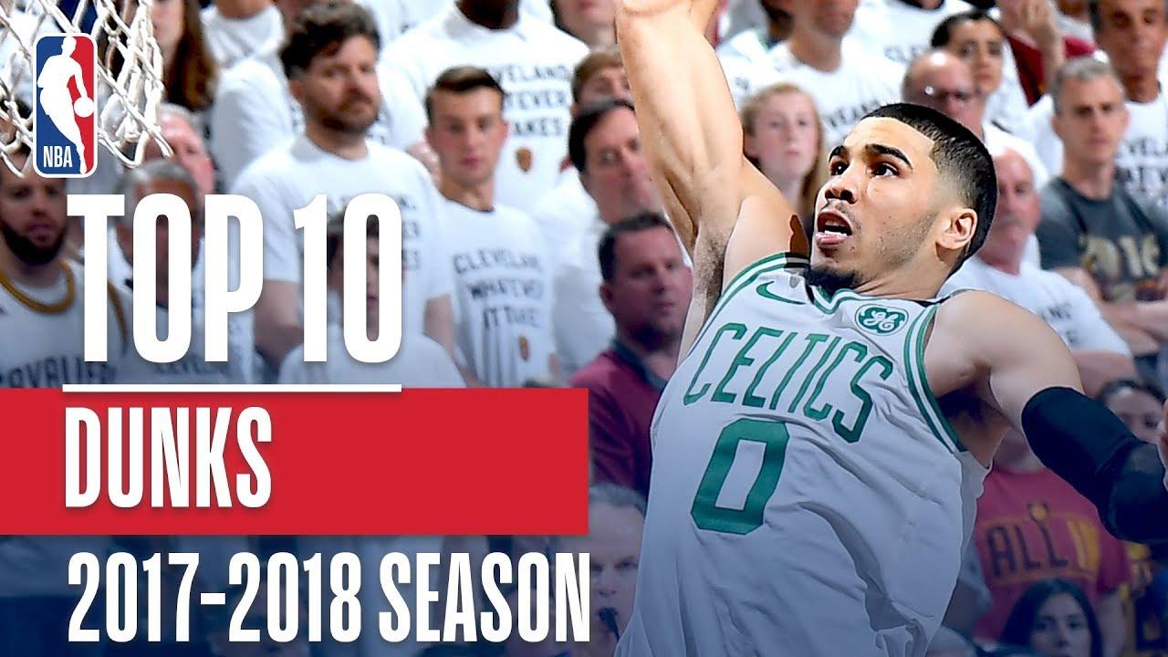 Top 10 Dunks: 2018 NBA Season