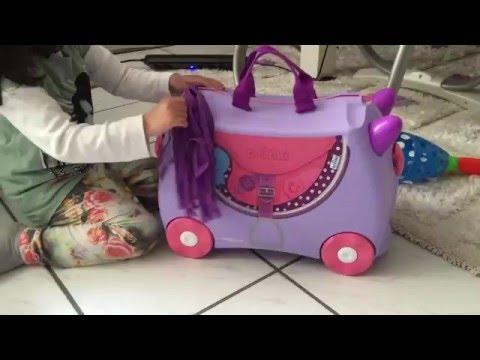 Trunki Blue Bell travel bag kid bag review, Trunki kinderkoffer, Trunki PaddlePak Octopus