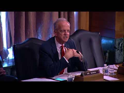 Sen. Moran Questions Federal Reserve Nominee in Banking Hearing