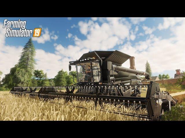 Farming Simulator 19 - JU? GRALI!!! SAM ZOBACZ JAK WYGL?DA GRA *realistyczna grafika