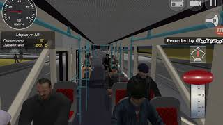 Симулятор трамвая 3D 2018 покатушки на ЛМ 2008/2009