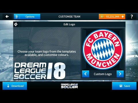 How To Import Bayern Munchen Bayern Munich Logo And Kits In Dream League Soccer 2018 Youtube