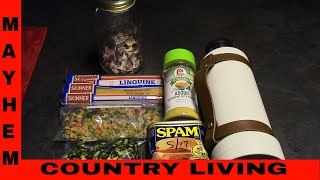 How to thermos cook food #MayhemCountryLiving #PreppingNetwork #ThermosCooking