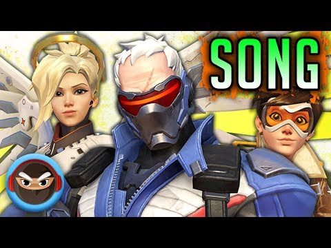 "OVERWATCH HEROES SONG ""We Are the  Overwatch"" by TryHardninja feat. Fabvl"