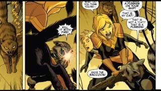 """captain marvel issue #2 review """"flerken"""""""