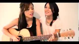 Two Twin Sisters  Acoustic Gangnam Style