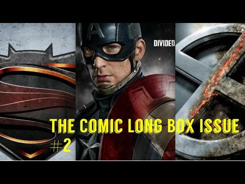 The Comic Long Box Issue #2: Comic Book Films 2016