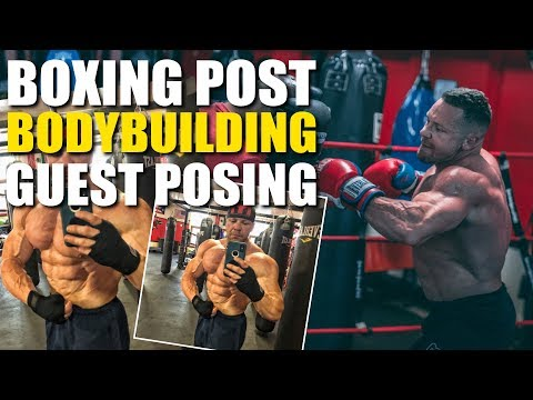 Marc Lobliner Sparring One Day After Bodybuilding Guest Posing!