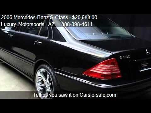 2006 mercedes benz s class s500 for sale in phoenix az for Mercedes benz logo for sale