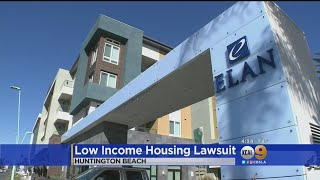 State Sues Huntington Beach Over Low Income Housing