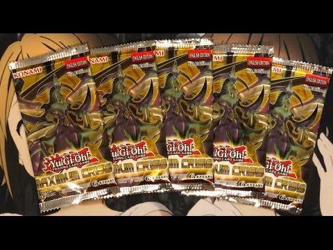 Opening My Maximum Crisis Yugioh Sneak Peek Booster Packs TCG