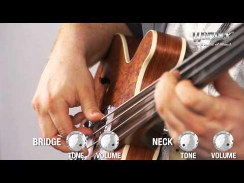 The Warwick Star Bass II Bubinga