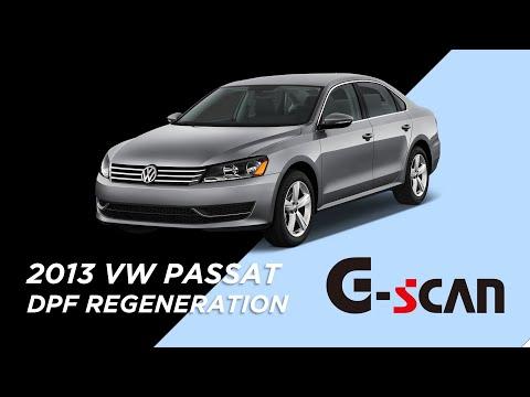 [G-scan] DPF special function on 2013 Volkswagen PASSAT with 2.0L TDI engine