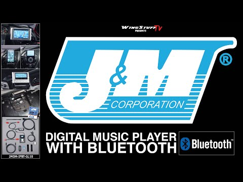 Digital Music Player w/Bluetooth by J&M Corp | Honda Goldwing Accessories | Wingstuff.com