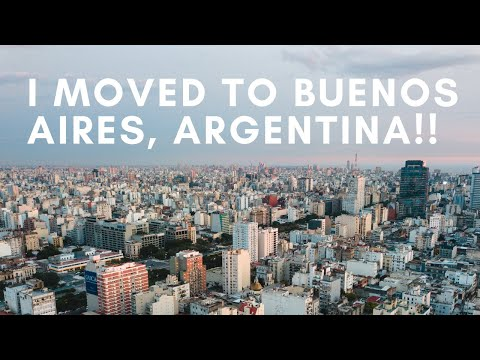 BUENOS AIRES VLOG - LIVING UNSETTLED AS A DIGITAL NOMAD
