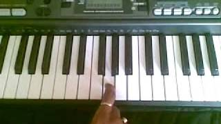 Indian National Anthem Piano Tutorial