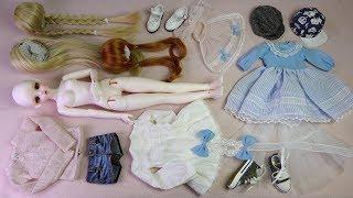★구체관절인형 리나슈슈 한정 아주르 라비니아 개봉기★Ball Jointed Doll LINA chouchou Swetts Project Cream chou Azure Lavinia