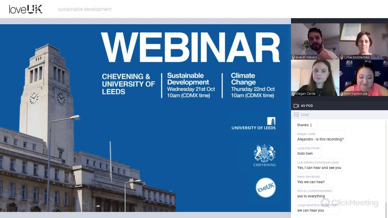 Chevening and University of Leeds | Sustainable Development