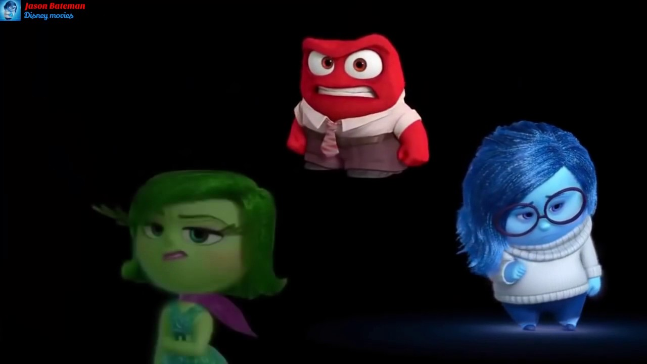 Inside Out Meet Your Joy Sadness Anger Disgust And Fear Youtube