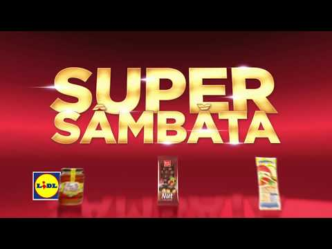 Super Sambata la Lidl • 23 Iunie 2018
