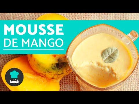 Mousse de mango - Receta FÁCIL, RÁPIDA y ECONÓMICA