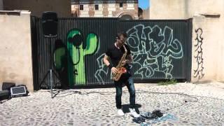 Ismael Dorado – Viva La Vida. Coldplay. Saxo con bucle.