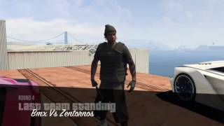 GTA 5 online chilling with the squad